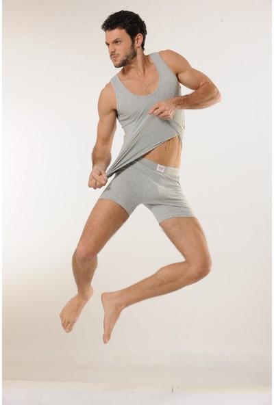 HMD 3'lü Erkek Pamuklu Askılı Atlet