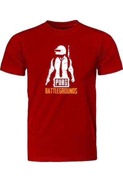Fandomya Pubg Battlegrounds Kırmızı Tişört