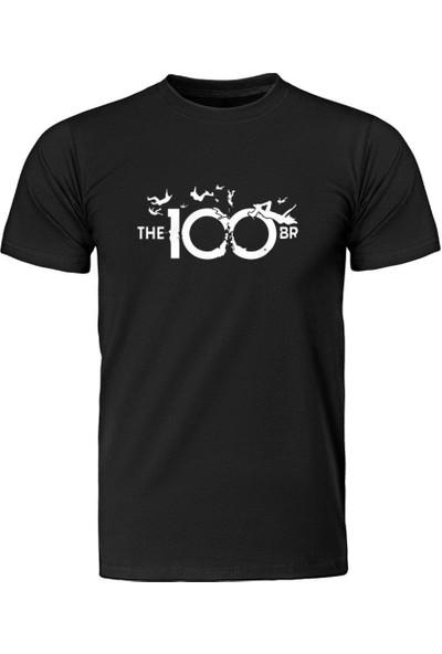 Fandomya The 100 Apocalypse Siyah Tişört