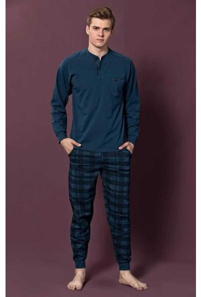 Kly Erkek Uzun Kol Pijama Takım 6013