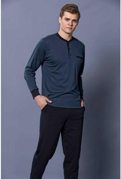 Kly Erkek Uzun Kol Pijama Takım 6103