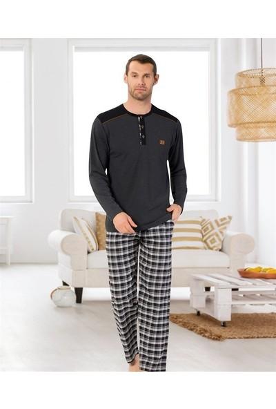 Kly Uzun Kol Pijama Takım 2031