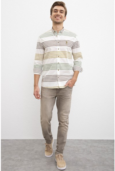 U.S. Polo Assn. Beyaz Gömlek 50207298-VR019