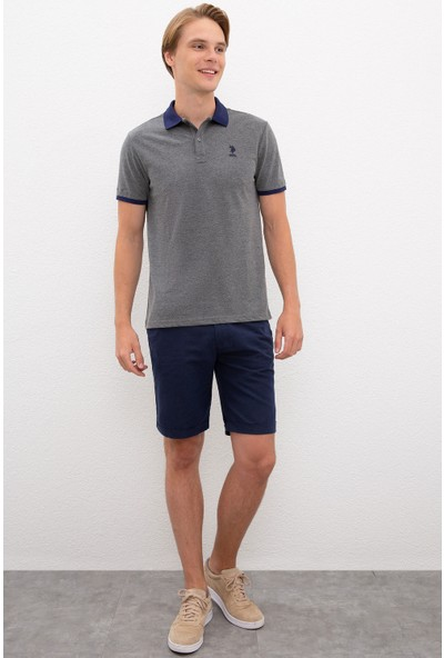 U.S. Polo Assn. Gri T-Shirt 50218823-VR081