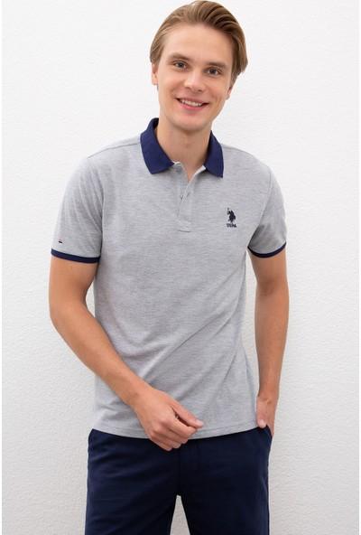 U.S. Polo Assn. Gri T-Shirt 50218823-VR086
