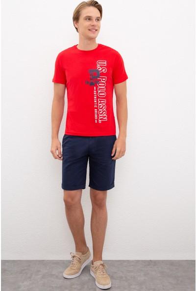 U.S. Polo Assn. Kırmızı T-Shirt 50217762-VR030