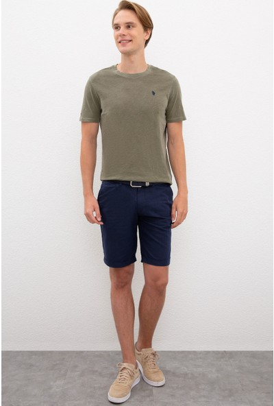 U.S. Polo Assn. Yeşil T-Shirt Basic 50220102-VR111