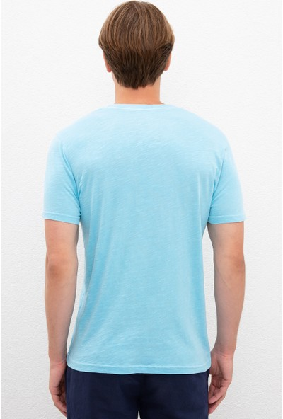 U.S. Polo Assn. Yeşil T-Shirt Basic 50220102-VR093