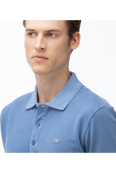 Lacoste Erkek Slim Fit Mavi Polo PH0037.Z0G