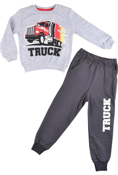 Minigo Truck Kamyonlu Erkek Çocuk Eşofman Takım