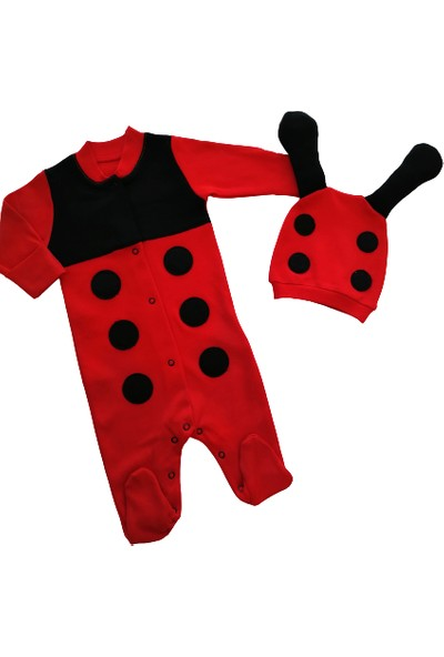 Puppis Baby Uğur Böceği Tulum Set