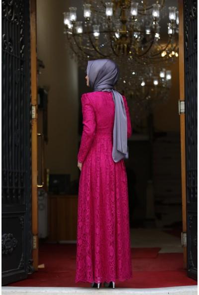 Erbilden Erb Ahunisa Henna Abiye Fuşya 5646