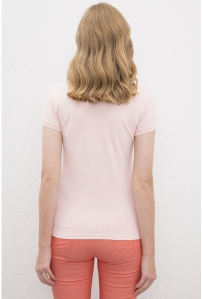 U.S. Polo Assn. Pembe T-Shirt 50217835-VR078