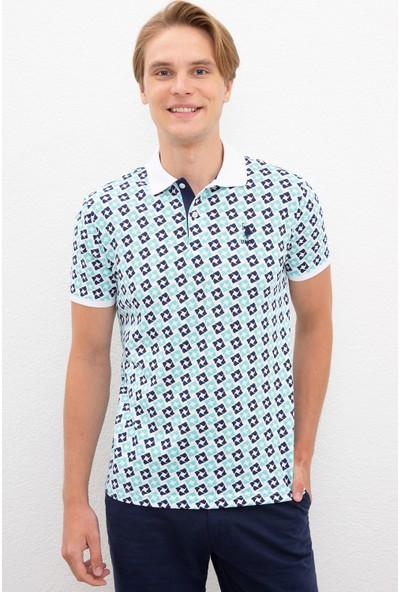 U.S. Polo Assn. Beyaz T-Shirt 50217941-VR013