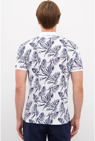 U.S. Polo Assn. Beyaz T-Shirt 50217990-VR013