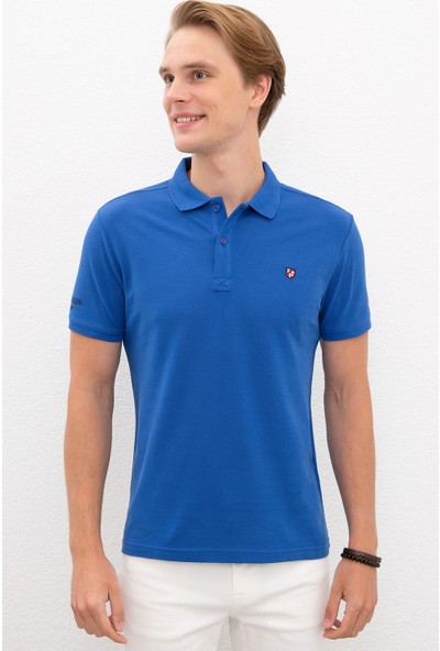 U.S. Polo Assn. Mavi T-Shirt Basic 50218822-VR045