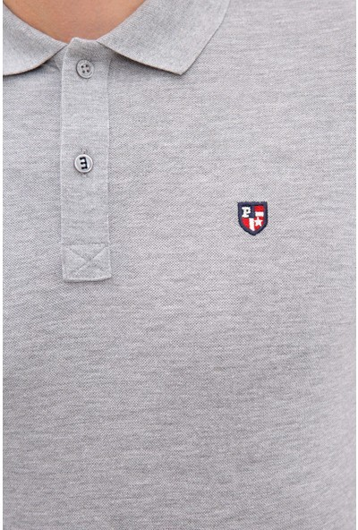 U.S. Polo Assn. Gri T-Shirt Basic 50218822-VR086