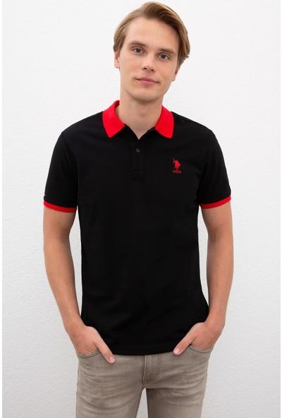 U.S. Polo Assn. Siyah T-Shirt 50218823-VR046