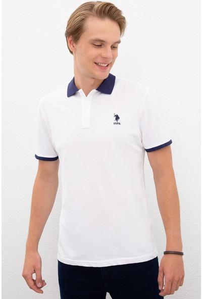 U.S. Polo Assn. Beyaz T-Shirt 50218823-VR013