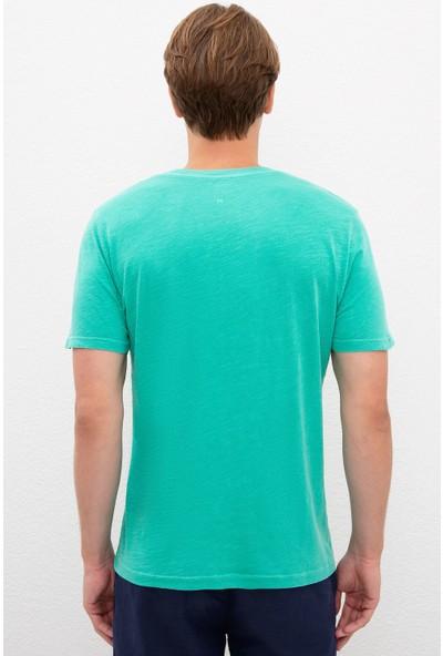 U.S. Polo Assn. Yeşil T-Shirt Basic 50220102-VR054