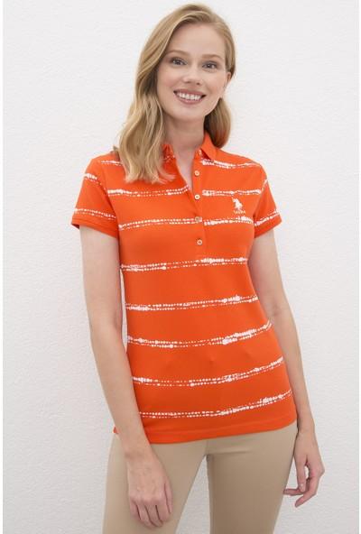 U.S. Polo Assn. Kırmızı T-Shirt 50220964-VR039
