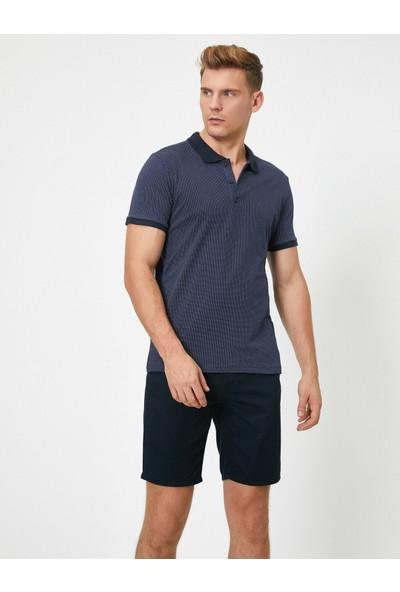 Koton Kısa Kollu Basic Polo Yaka T-Shirt