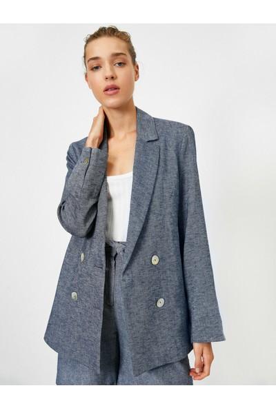Koton Dügmeli Blazer Ceket