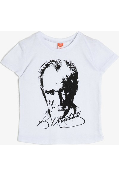 Koton Kids Atatürk Baskılı T-Shirt