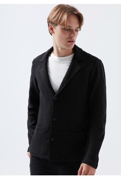 Mavi Erkek Siyah Triko Blazer Ceket 070699-900