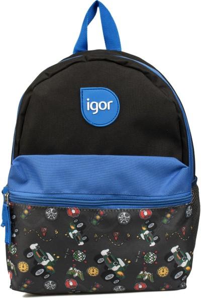 Igor W80319 Lucky Okul Mavi Unisex Çanta