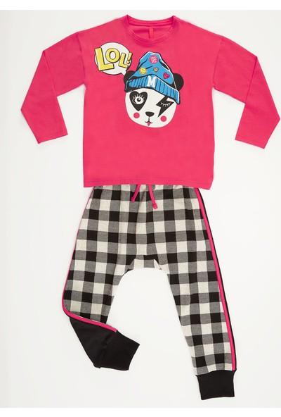 Mushi Lol Panda Kız Çocuk Pantolon Takım