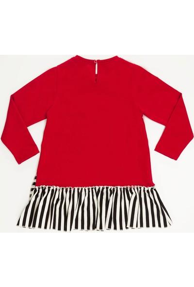 Mushi Meow Pow Kız Çocuk Elbise