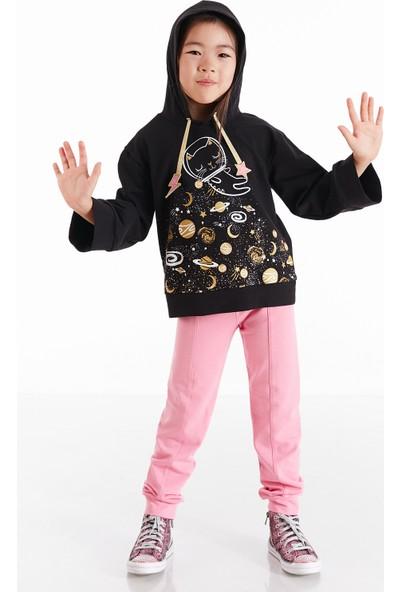 Mushi Astrokedi Kapişonlu Kız Çocuk Eşofman Takım