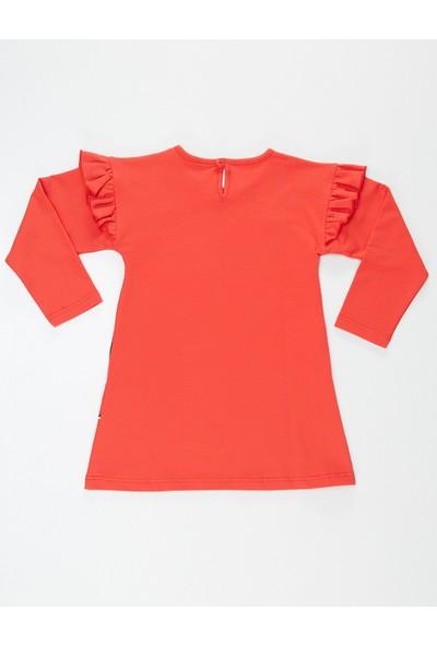 Mushi Zebracorn Kız Çocuk Elbise