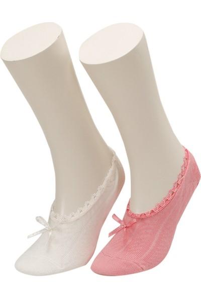 Mını 2 Lı Suba-G Ekru Kız Çocuk 2li Soket Çorap
