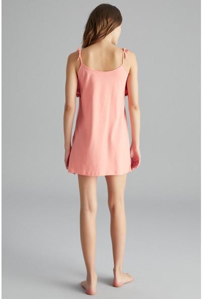 Penti Sorbe Plain Frill Elbise