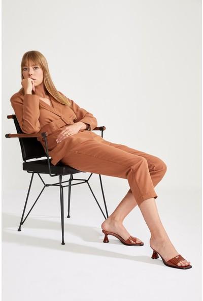 DeFacto Regular Fit Kemer Detaylı Blazer Ceket