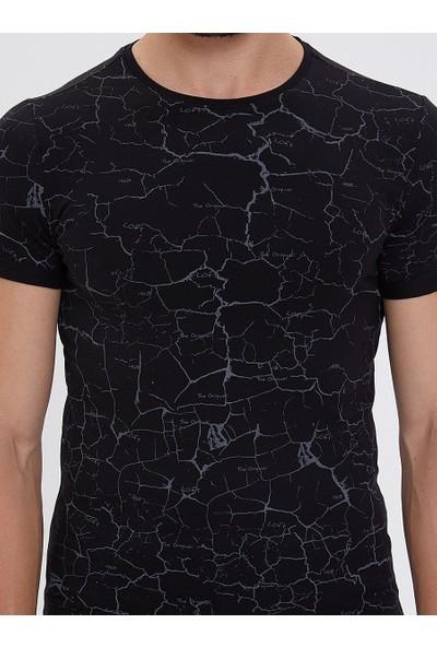 Loft Erkek Bisiklet Yaka T-Shirt 2023749