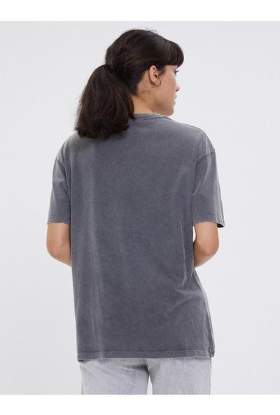 Loft Kadın Bisiklet Yaka T-Shirt 2026222