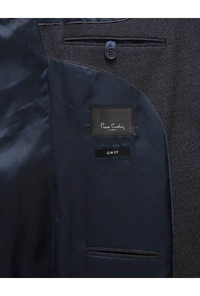 Pierre Cardin Lacivert Slim Fit Takım Elbise 50227242-VR033