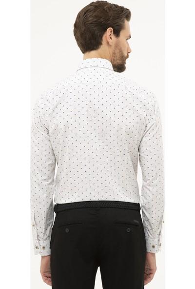 Pierre Cardin Erkek Slim Fit Gömlek 50227323-Vr052