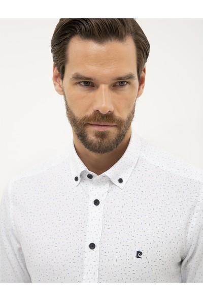 Pierre Cardin Erkek Detaylı Slim Fit Gömlek 50227382-Vr036