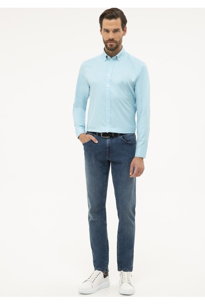Pierre Cardin Erkek Slim Fit Oxford Gömlek 50231259-Vr102