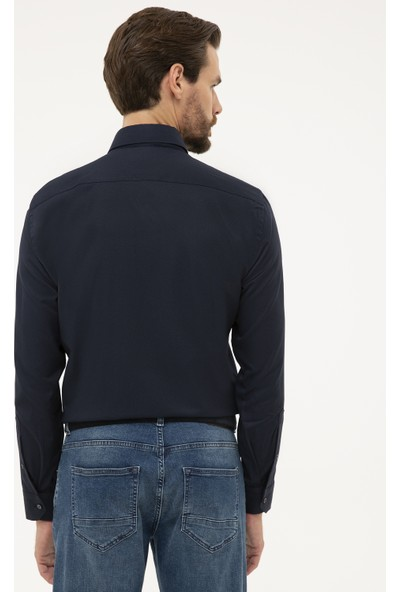 Pierre Cardin Erkek Slim Fit Oxford Gömlek 50231259-Vr033