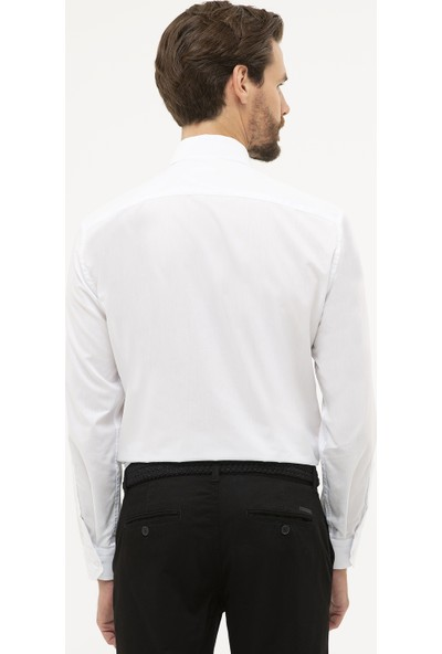 Pierre Cardin Erkek Regular Fit Basic Gömlek 50231291-Vr013
