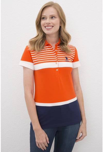 U.S. Polo Assn. Kadın Tshirt 50217757-Vr039