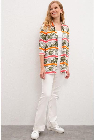 U.S. Polo Assn. Kadın Gömlek 50218749-Vr183