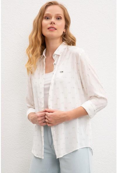 U.S. Polo Assn. Kadın Gömlek 50218783-Vr013