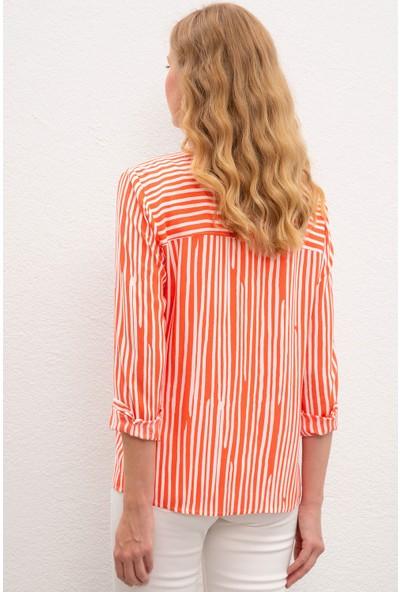 U.S. Polo Assn. Kadın Gömlek 50218798-Vr039