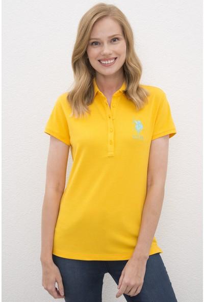 U.S. Polo Assn. Kadın Tshirt 50221979-Vr094